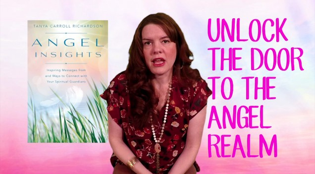 Tanya's new book is all about ANGELS!